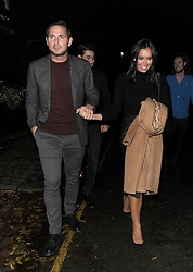 Celebrities leaving Piers Morgan's Christmas Party, held at his pub in Kensington. Frank Lampard, Christine Lampard, Gillian McKeith, Skylar McKeith, Afton McKeith, Camilla Kerslake, Chris Robshaw, Simon Motson were all in attendance. Kay Burley was also at the party, and looked rather worse for wear as she left. As did Myleene Klass, who drove home, despite being at the pub for 4 hours.<br /><br />21 December 2017.<br /><br />Please byline: Will/Vantagenews.com