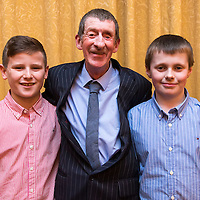 Conor McCarthy, Joe O'Keeffe and Jonathon Moloney at the Clare Limousin Breeders 18th Annual Dinner Dance