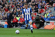Wigan Athletic's Callum McManaman in action. Skybet football league championship play off semi final, 1st leg match, Wigan Athletic v QPR at the DW Stadium in Wigan, England on Friday 9th May 2014.pic by Chris Stading, Andrew Orchard sports photography