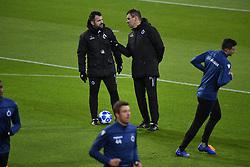 November 27, 2018 - Dortmund, France - Ivan Leko head coach of Club Brugge, Rudy Cossey assistant coach of Club Brugge (Credit Image: © Panoramic via ZUMA Press)