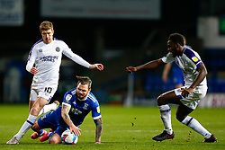 James Norwood of Ipswich Town is fouled by Josh Vela of Shrewsbury Town - Mandatory by-line: Phil Chaplin/JMP - 21/11/2020 - FOOTBALL - Portman Road - Ipswich, England - Ipswich Town v Shrewsbury Town - Sky Bet League One