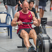 Warren Mant MALE HEAVYWEIGHT Masters C 500mtr Race #18  01:30pm <br /> <br /> www.rowingcelebration.com Competing on Concept 2 ergometers at the 2018 NZ Indoor Rowing Championships. Avanti Drome, Cambridge,  Saturday 24 November 2018 © Copyright photo Steve McArthur / @RowingCelebration
