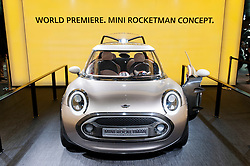 New Mini Rocketman concept car at Geneva Motor Show 2011 Switzerland
