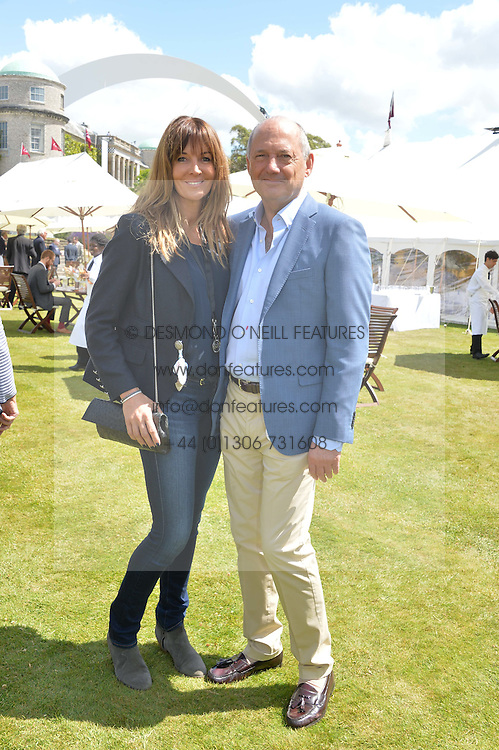 RON DENNIS and CAROL WEATHERALL at the Cartier hosted Style et Lux at The Goodwood Festival of Speed at Goodwood House, West Sussex on 29th June 2014.