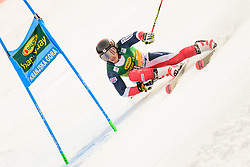 March 9, 2019 - Kranjska Gora, Kranjska Gora, Slovenia - Charlie Raposo of Great Britain in action during Audi FIS Ski World Cup Vitranc on March 8, 2019 in Kranjska Gora, Slovenia. (Credit Image: © Rok Rakun/Pacific Press via ZUMA Wire)