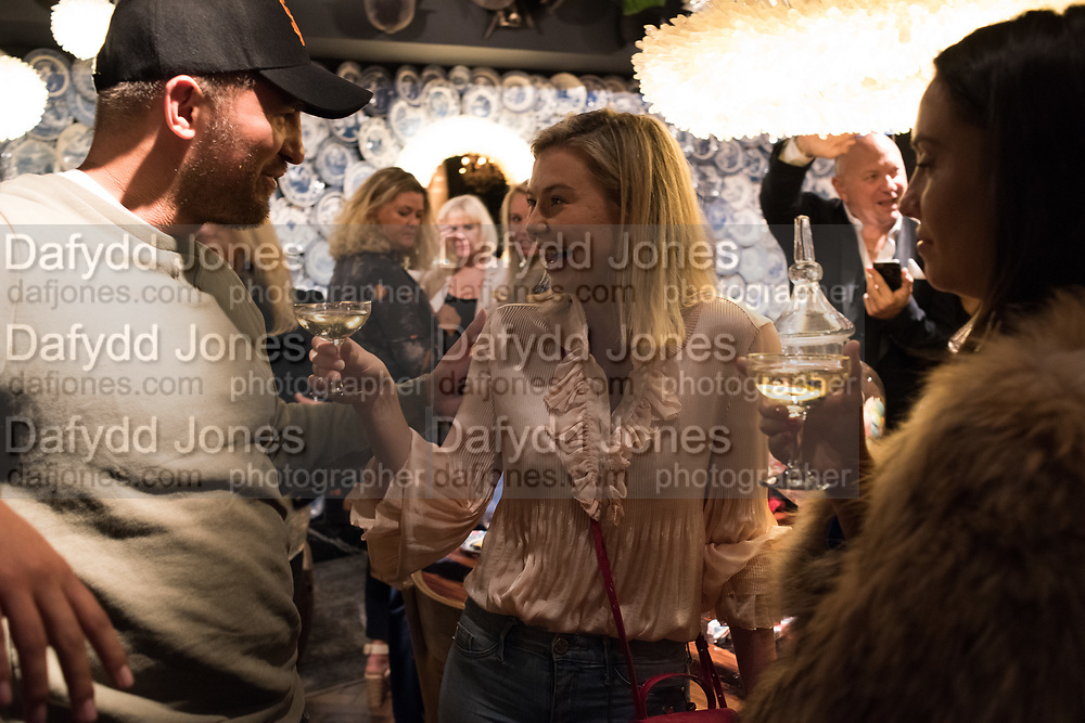 ALEX HINSLEY, GEORGIA TOFFOLO; ROCHELLE KNOWLES, Timothy Oulton Flagship Gallery Grand Opening, Timothy Oulton Bluebird, 350 King's Rd. Chelsea, London.  19 September 2018