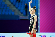 Dina Averina is the 2017 World All-around Champion.She was born in Russia and has a twin sister called Arina is also herself a great gymnast.