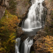 Crystal Cascades are a few minutes hike up the Tuckerman Ravine Trail from the AMC Pinkham notch Camp