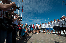 Celebrity race - Stena Match Cup Sweden 2010, Marstrand-Sweden. World Match Racing Tour. photo: Loris von Siebenthal - myimage