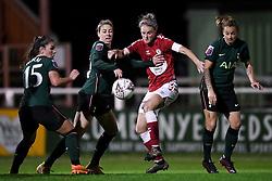 Jasmine Matthews of Bristol City Women has a shot on goal - Mandatory by-line: Ryan Hiscott/JMP - 14/11/2020 - FOOTBALL - Twerton Park - Bath, England - Bristol City Women v Tottenham Hotspur Women - Barclays FA Women's Super League