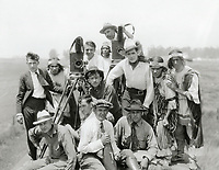 1915 A western movie production unit at Kalem Co. Studios in Hollywood