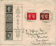27th Philatelic Congress of Great Britain 1940 souvenir cover.