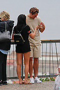 EXCLUSIVE<br /> looks like Marine Simpson and Lewis Bloor romance is hotting up as they take a Romantic break in Barcelona <br /> ©Exclusivepix Media