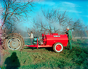 1006-G051Pul-Tank Sprayer, made by Rear's Farm Service, of Eugene. agriculture