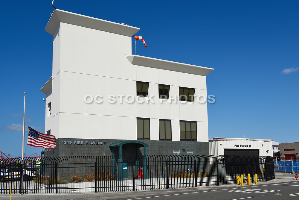 Fire Station 15 in the Port of Long Beach