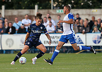 Leeds United's Kalvin Phillips in action<br /> <br /> Photographer Alex Dodd/CameraSport<br /> <br /> Football Pre-Season Friendly - Guiseley v Leeds United - Thursday July 11th 2019 - Nethermoor Park - Guiseley<br /> <br /> World Copyright © 2019 CameraSport. All rights reserved. 43 Linden Ave. Countesthorpe. Leicester. England. LE8 5PG - Tel: +44 (0) 116 277 4147 - admin@camerasport.com - www.camerasport.com