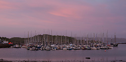 Day two of the Silvers Marine Scottish Series 2015, the largest sailing event in Scotland organised by the  Clyde Cruising Club<br /> Racing on Loch Fyne from 22rd-24th May 2015<br /> <br /> Tarbert Harbour evening light<br /> <br /> Credit : Marc Turner / CCC<br /> For further information contact<br /> Iain Hurrel<br /> Mobile : 07766 116451<br /> Email : info@marine.blast.com<br /> <br /> For a full list of Silvers Marine Scottish Series sponsors visit http://www.clyde.org/scottish-series/sponsors/