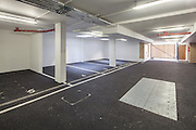 Car Park. Pembroke College New Build on completion March 2013. Oxford, UK