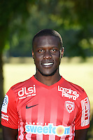 Dialo Guidileye of Nancy poses for a portrait during the Nancy squad photo call for the 2016-2017 Ligue 1 season on August 25, 2016 in Nancy, France<br /> Photo : Fred Marvaux / Icon Sport