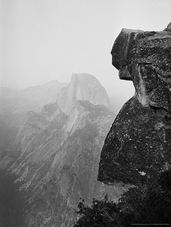 Half Dome, Yosemite National Park, California, USA, 1926