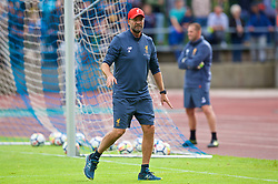 ROTTACH-EGERN, GERMANY - Friday, July 28, 2017: Liverpool's manager Jürgen Klopp during a training session at FC Rottach-Egern on day three of the preseason training camp in Germany. (Pic by David Rawcliffe/Propaganda)