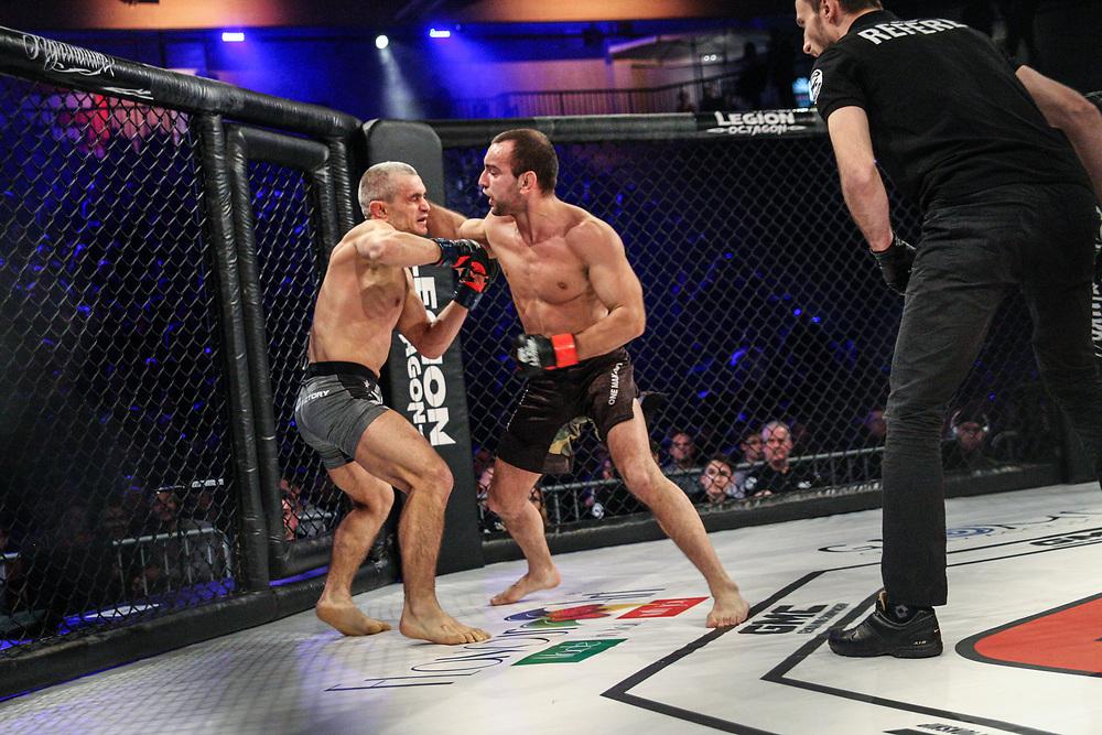 MMA: German MMA Championship, GMC, Hamburg, 07.01.207<br /> Dimitar Kostov (GYm Ardalan) - Iurie Bejenari (MMA Factory)<br /> © Torsten Helmke