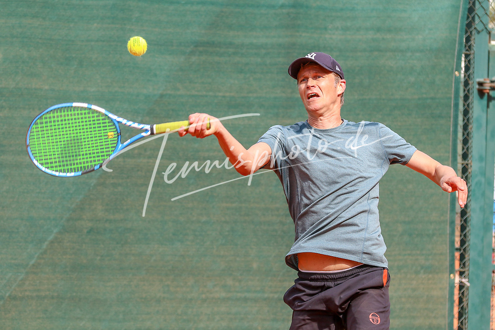 Heiko Paluschka (Tennis-Club Tiergarten), Grunewald Open 2018 - Senioren, Finals, Berlin, 16.09.2018, Foto: Claudio Gärtner
