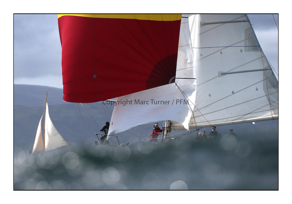 Day five of the Fife Regatta, Race from Portavadie on Loch Fyne to Largs. <br /> <br /> Sonata, Patrick  Caiger-Smith, GBR, Bermudan Sloop, Wm Fife 3rd, 1950<br /> <br /> <br /> * The William Fife designed Yachts return to the birthplace of these historic yachts, the Scotland's pre-eminent yacht designer and builder for the 4th Fife Regatta on the Clyde 28th June–5th July 2013<br /> <br /> More information is available on the website: www.fiferegatta.com