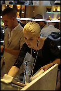MILLIE WATSON, Dinosaur Designs launch of their first European store in London. 35 Gt. Windmill St. 18 September 2014