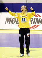 05.12.2008 Ohrid(FYR Macedonia)<br />Ukraine-Norway European women's handball championship<br />Haraldsen Kristine Norway <br />Foto:Aleksandar Djorovic