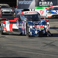 Long Beach, CA - Apr 15, 2016:  The IMSA WeatherTech Sportscar Championship teams take to the track to qualify for the 42nd Annual Toyota Grand Prix of Long Beach on the Streets of Long Beach in Long Beach, CA.