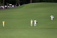 Danny Willett (ENG) walking down the 2nd fairway during the 1st round at the The Masters , Augusta National, Augusta, Georgia, USA. 11/04/2019.<br /> Picture Fran Caffrey / Golffile.ie<br /> <br /> All photo usage must carry mandatory copyright credit (© Golffile | Fran Caffrey)