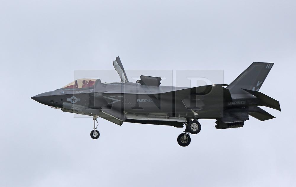 Lockheed Martin F-35B Lightning II, Farnborough International Airshow, London Farnborough Airport UK, 15 July 2016, Photo by Richard Goldschmidt