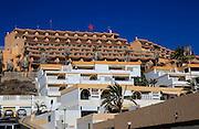 Hotels and villas at Solana Matoral, Morro Jable, Jandia peninsula, Fuerteventura, Canary Islands, Spain