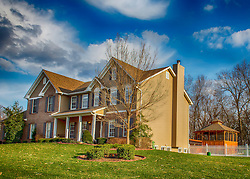 4734 Francis St. Wentzville, Missouri 63385 - Long View With Gazebo