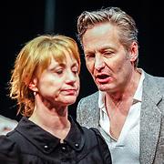 NLD//Amsterdam20160415 - Persdag toneelstuk In de Ban van Broadway, Martijn Nieuwerf en Bianca Krijgsman