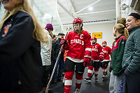 St Pauls School girls varsity hockey versus Kimball Union.  ©2018 Karen Bobotas Photographer