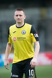Edinburgh City's Derek Riordan. Forfar Athletic 1 v 2 Edinburgh City, Scottish Football League Division Two played 11/3/2017 at Station Park.