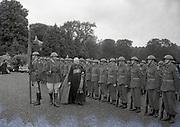 Alibrandi Right Reverent Monsignor Seatano, Albert Levame, Credentials been presented, Naunciture, 10-8-1956 Sean T O'Kelly Áras an Uachtaráin