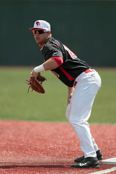 26 April 2014:  Brian Rodemoyer during an NCAA Division 1 Missouri Valley Conference (MVC) Baseball game between the Southern Illinois Salukis and the Illinois State Redbirds in Duffy Bass Field, Normal IL