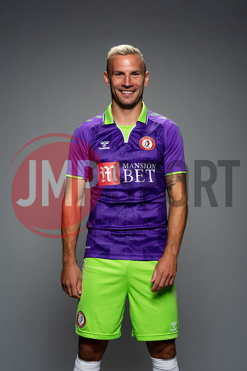 Andreas Weimann of Bristol City during the 20/21 media day - Rogan/JMP - 28/08/2020 - Ashton Gate Stadium - Bristol, England.