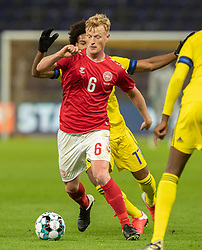 Jens Jønsson (Danmark) under venskabskampen mellem Danmark og Sverige den 11. november 2020 på Brøndby Stadion (Foto: Claus Birch).