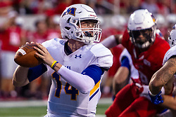 NORMAL, IL - September 07: Mark Pappas during a college football game between the ISU (Illinois State University) Redbirds and the Morehead State Eagles on September 07 2019 at Hancock Stadium in Normal, IL. (Photo by Alan Look)