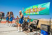 The Surfrajettes at Asbury Park Surf Music Fest, Asbury Park, NJ 8/26/17