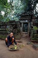 Temple de Ta Prohm, Cambodge, 2007
