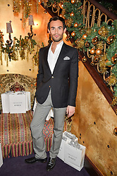 MARK-FRANCIS VANDELLI at the UK launch of WhoWhatWear UK held at Loulou's, Hertford Street, London on 24th November 2015.
