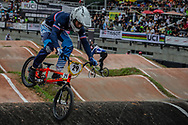 #29 (RENCUREL Jeremy) FRA at the 2016 UCI BMX World Championships in Medellin, Colombia.