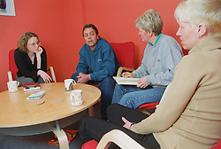 Drug advice worker for organisation 'Sorted' and project manager counselling two clients,