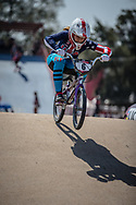 #6 (STANCIL Felicia) USA during practice at Round 9 of the 2019 UCI BMX Supercross World Cup in Santiago del Estero, Argentina