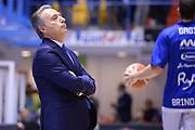 DESCRIZIONE : Brindisi  Lega A 2015-16 Enel Brindisi Pasta Reggia Juve Caserta<br /> GIOCATORE : Piero Bucchi<br /> CATEGORIA : Allenatore Coach Before Pregame<br /> SQUADRA : Enel Brindisi<br /> EVENTO : Enel Brindisi Pasta Reggia Juve Caserta<br /> GARA :Enel Brindisi  Pasta Reggia Juve Caserta<br /> DATA : 24/04/2016<br /> SPORT : Pallacanestro<br /> AUTORE : Agenzia Ciamillo-Castoria/M.Longo<br /> Galleria : Lega Basket A 2015-2016<br /> Fotonotizia : <br /> Predefinita :